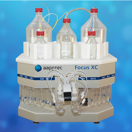 Focus XC high performance peptide synthesizer