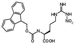 Fmoc-Arg(NO2)-OH  [58111-94-7]