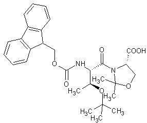 Fmoc-Thr(tBu)-Ser(ΨMe,Mepro)-OH   [1425938-63-1]