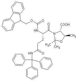 Fmoc-Gln(Trt)-Thr(ψMe,Mepro)-OH   [1572725-72-4]
