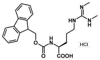 Fmoc-Arg(Me)2-OH HCl sym.
