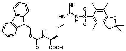 Fmoc-Arg(Pbf)-OH  [154445-77-9]
