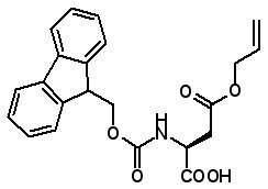 Fmoc-Asp(OAll)-OH  [146982-24-3]