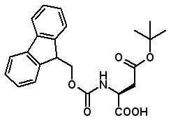 Fmoc-Asp(OtBu)-OH  [71989-14-5]