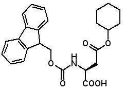 Fmoc-Asp(OcHx)-OH  [130304-80-2]