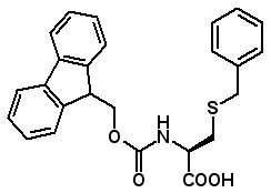 Fmoc-Cys(Bzl)-OH  [53298-33-2]