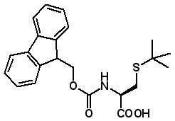 Fmoc-Cys(tBu)-OH  [67436-13-9]