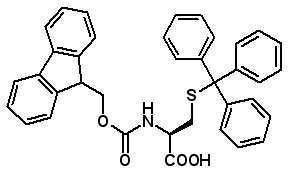Fmoc-Cys(Trt)-OH  [103213-32-7]