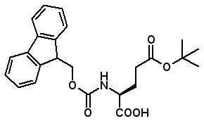 Fmoc-Glu(OtBu)-OH  [71989-18-9]