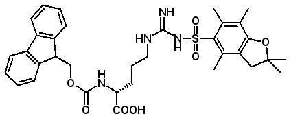 Fmoc-D-Arg(Pbf)-OH  [187618-60-6]