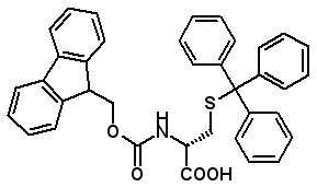 Fmoc-D-Cys(Trt)-OH  [167015-11-4]