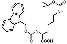 Fmoc-D-Lys(Boc)-OH  [92122-45-7]