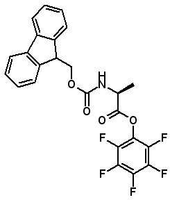 Fmoc-Ala-OPfp  [86060-86-8]