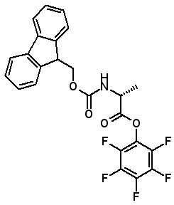 Fmoc-D-Ala-OPfp  [125043-04-1]