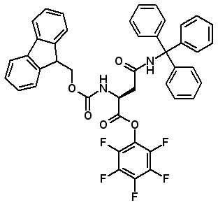 Fmoc-Asn(Trt)-OPfp  [132388-64-8]