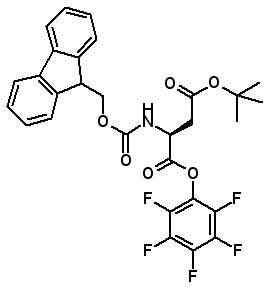 Fmoc-Asp(OtBu)-OPfp  [86061-01-0]