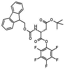 Fmoc-D-Asp(OtBu)-OPfp  [2003350-75-7]