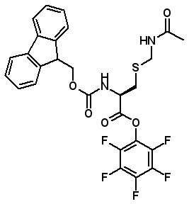 Fmoc-Cys(Acm)-OPfp  [86060-96-0]
