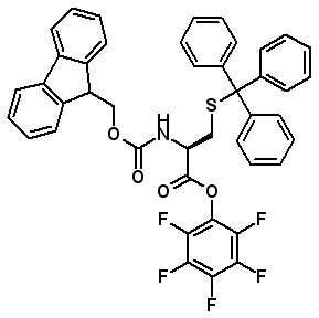 Fmoc-Cys(Trt)-OPfp  [115520-21-3]