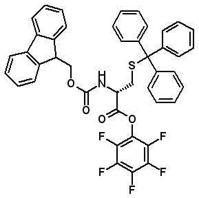 Fmoc-D-Cys(Trt)-OPfp  [200395-72-8]