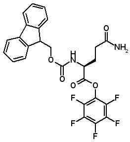Fmoc-Gln-OPfp  [86061-00-9]