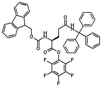 Fmoc-Gln(Trt)-OPfp  [132388-65-9]