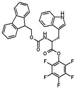 Fmoc-D-Trp-OPfp  [136554-94-4]