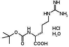 Boc-D-Arg-OH HCl H2O  [113712-06-4]