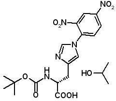 Boc-D-His(Dnp)-OH IPA  [204125-02-0]