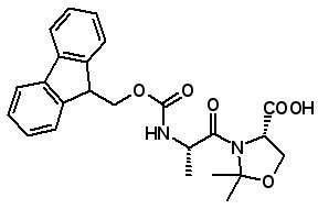 Fmoc-Ala-Ser(ψMe,Mepro)-OH [252554-78-2]