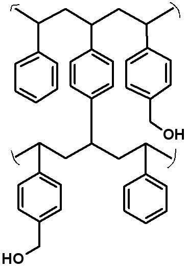 Hydroxymethyl Polystyrene Resin