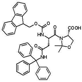 Fmoc-Asn(Trt)-Ser(ψMe,Mepro)-OH [920519-33-1]
