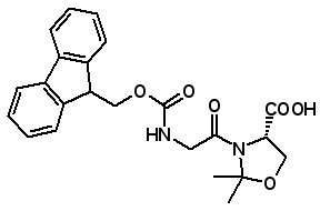 Fmoc-Gly-Ser(ψMe, Mepro)-OH   [1095952-22-9]
