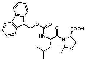 Fmoc-Leu-Ser(ψMe,Mepro)-OH  [339531-50-9]