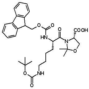 Fmoc-Lys(Boc)-Ser(ψMe,Mepro)-OH   [957780-54-0]