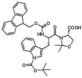 Fmoc-Trp(Boc)-Ser(ψMe,Mepro)-OH [908601-15-0]