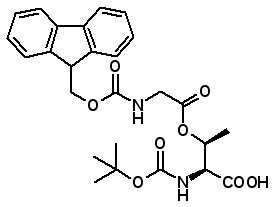 Boc-Thr(Fmoc-Gly)-OH  [944283-25-4]