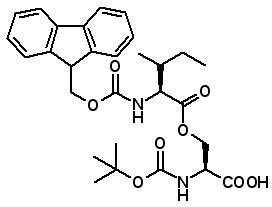 Boc-Ser(Fmoc-Ile)-OH  [944283-10-7]