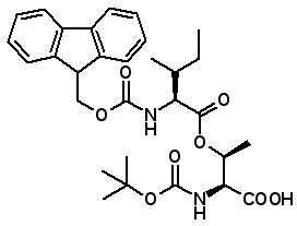 Boc-Thr(Fmoc-Ile)-OH  [944283-27-6]