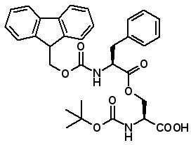 Boc-Ser(Fmoc-Phe)-OH  [944283-23-2]