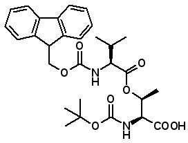 Boc-Thr(Fmoc-Val)-OH  [887707-95-1]