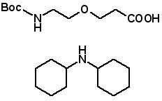 Boc-NH-PEG-Propionic Acid DCHA