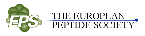 European Peptide Society logo and list of symposium events